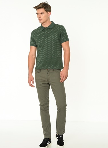 Lee Cooper Polo Yaka Tişört Yeşil
